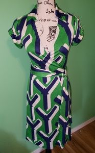 Diane Von Furstenberg Dresses - Diane Von Furstenberg Jilda Vintage Silk Dress sz4